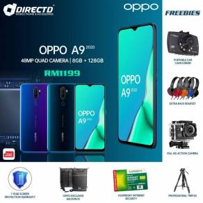 OPPO A9 (2020) 8GB RAM   128GB ROM   5000 Batt -MY
