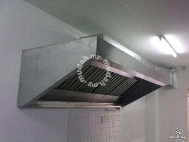 Restaurant cooking ventilation system