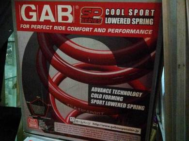 Gab Lower Sport Spring Perodua AXIA alza kancil L5