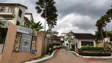 3 Storey Semi D Amberhill Taman Melawati Below Market Value!!