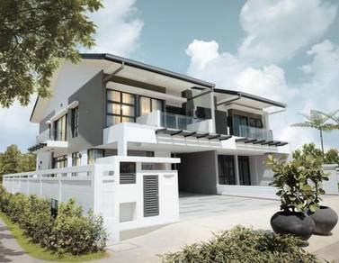 [55x70] Gated Guarded Wide Land Garden House in Completed Township