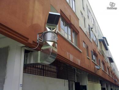 Supply restaurant cooker hood