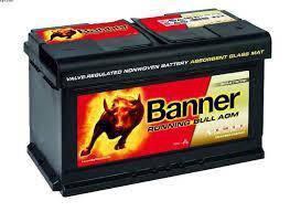 Banner running bull agm din 80 / 580 01 start stop