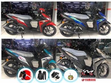 Yamaha EGO Solariz 125 - ZERO DP OTR-NEW COLOR !!!