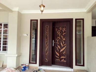 RENOVATION ubahsuai PLASTER CEILING tiles