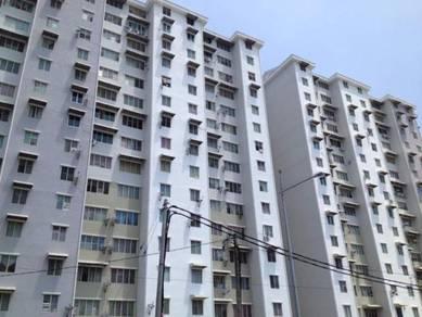 Idaman Melur Corner Unit Apartment At Sg Ara Free Parking Urgent Sale