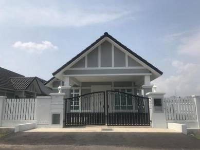 Banglo Baru, Setingkat, 50x80, Berhampiran Ayer Keroh, Melaka