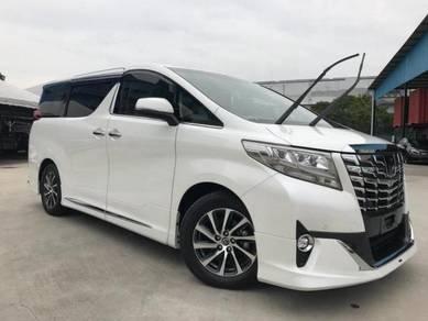 2016 Toyota ALPHARD 3.5 EXECUTIVE LOUNGE (A) 2.28%