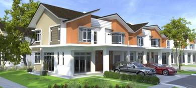 Rumah Teres Dua Tingkat di Wakaf Tapai Terengganu
