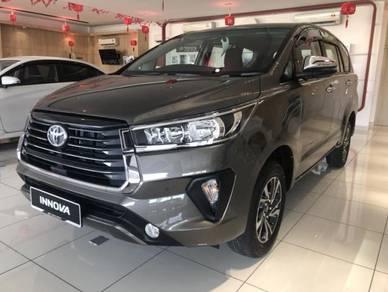 2021 Toyota INNOVA G AUTO BESAR DAN 8 TEMPAT DUDUK