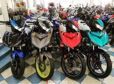 YAMAHA Y15ZR Y15 V2 Baru Ready Stock
