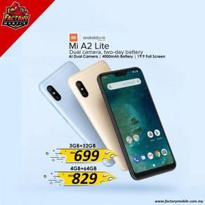 Xiaomi A2 Lite [ 3+32gb / 4+64gb ] M'sia Promo