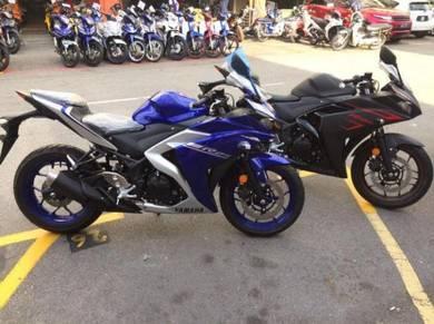Yamaha r25 low deposit