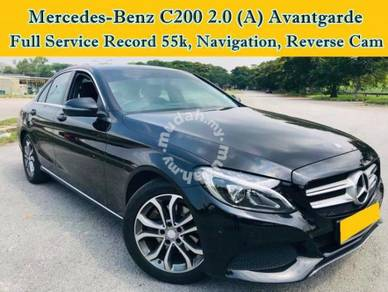 Mercedes Benz C200 AVANTGARDE 2.0 (A) Under Wrty