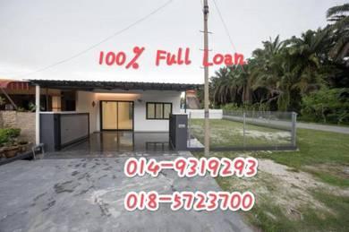 Klebang Corner house for sell