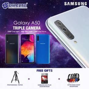 SAMSUNG Galaxy A50 (6GB + 128GB)MYSet + 3 HADIAH