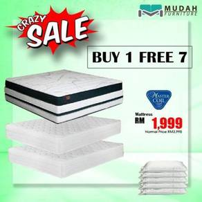 Buy 1 queen free 1 queen 1 single matress