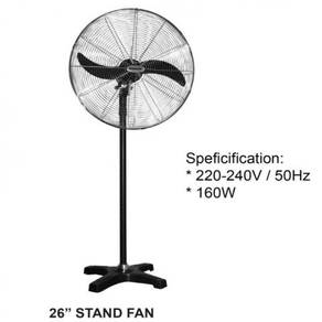 "BIG Industrial 26"" stand fan"