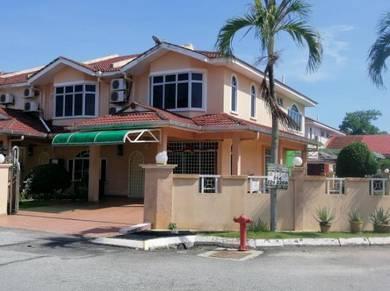 Corner double storey Terrace at Bandar Dataran Segar Lukut