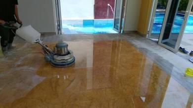 Polish Marble Granite Terazo Cement Parquet Vinyl