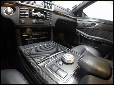 Mercedes e class front panel+interior kits carbon