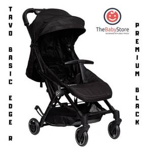 Tavo Basic Edge R - Premium Black Compact Stroller
