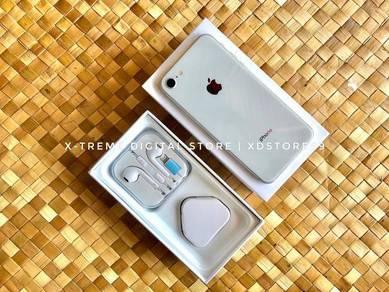 Iphone 8 64GB Silver ~ Boleh Trade-In !!!
