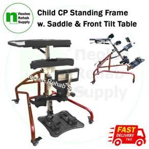 Child Standing Frame w Saddle & Front Tilt Table