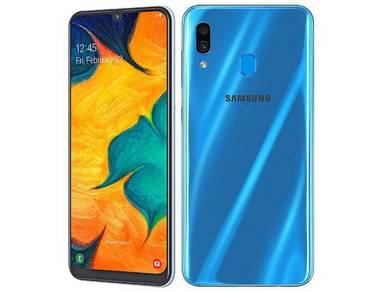 SAMSUNG Galaxy A30 (4GB RAM | 64GB ROM)ORI + GIFT