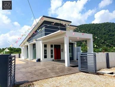 Rumah Baru 1st Storey Bunglo Botani IPOH boleh Custom Interior Design