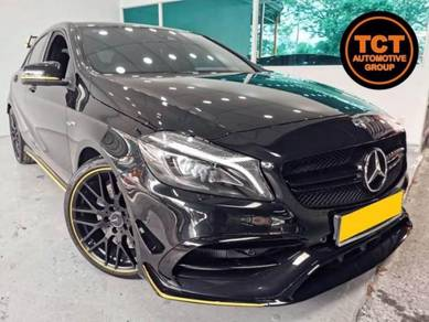 Mercedes Benz A45 2.0 AMG (A) Yellow Night Edition