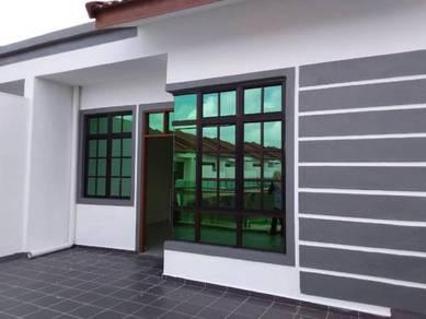 Rumah Teres Siap Tok Bali Pasir, Puteh, + DISKAUN harga