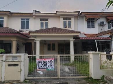 Last price 105% loan 2 sty House in Saujana Puchong , Puchong