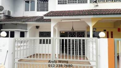 [Taman Klang Utama] Double Storey Terrace House For Rent