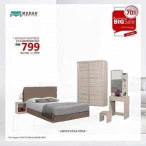 4x6 bedroom set fullset