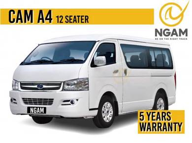 New Toyota Hiace 12 Seater Urvan CAM Placer X Van