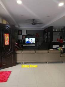 DSTH Corner Fully Extended/Renovated/Furnished at Bandar Putra Kulai