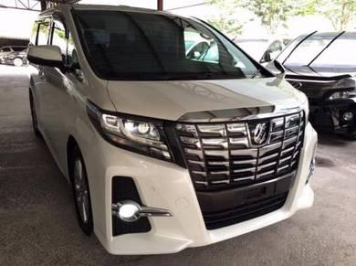 2018 Toyota Alphard 2.4 (A) MPV New UNREG Japan