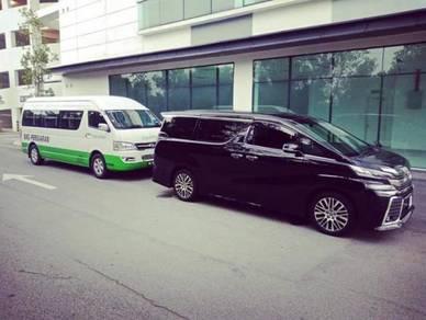 Perkhidmatan Sewa Van MPV dengan Pemandu KLIA