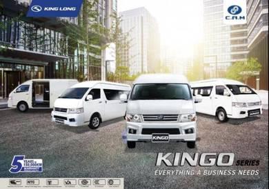 New CAM Kingo 15 ~ 18 Seats Window Van