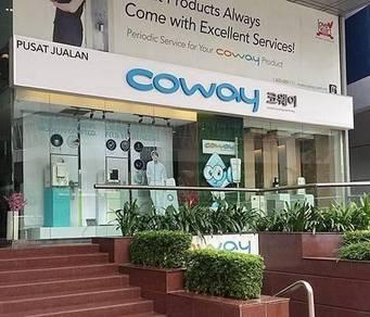 Jawatan Kosong Coway Shah Alam & Klang