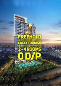 Freehold Fully Furnish Condo Setapak Jalan Gombak