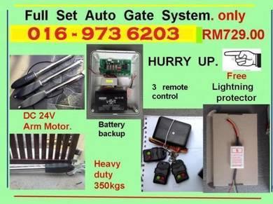 09m autogate / auto gate system + 8 years warranty