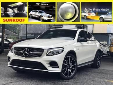 2017 M Benz GLC 43 COUPE 3.0 4-Matic 4door SUNROOF