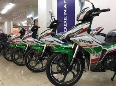 2019 Benelli RFS150 LE( ZERO DEPOSIT / PROMOSI CNY )