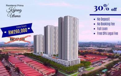[30% OFF] Residensi Prima, PR1MA Kajang Utama Apartment 0%DP Semenyih