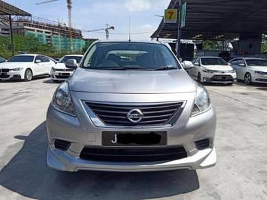2013 Nissan ALMERA 1.5 E (IMPUL) (M)