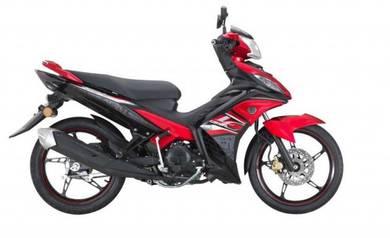 Yamaha LC 135 Loan kedai online b/list muka rendah
