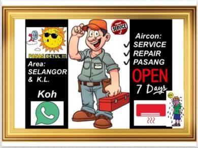 Air cond Service Repair * Air con Servis* Aircond