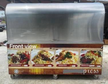 Stainless Steel Portable Food Kiosk